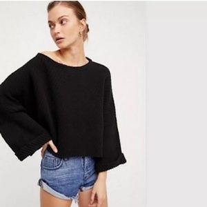 NWT Free People I Can't Wait Chunky Dolman Sweater